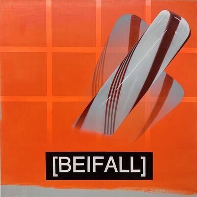 Craig Drennen, 'ORANGE BANDIT (BEIFALL)', 2019