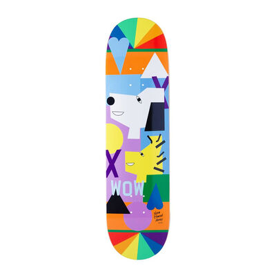 Nina Chanel Abney, 'HUF Skateboard Deck', 2018