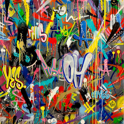Martin Whatson, 'Scribble (Push-Oh)', 2020