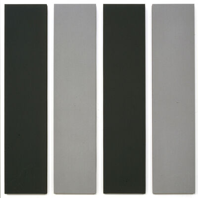 Alan Charlton, 'Painting in 4 parts ', 2000