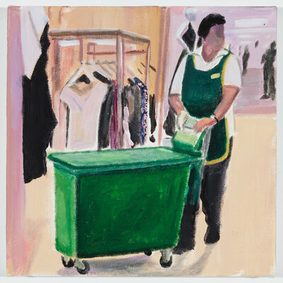Ramiro Gomez, 'In the Women's Department at Harrod's', 2018