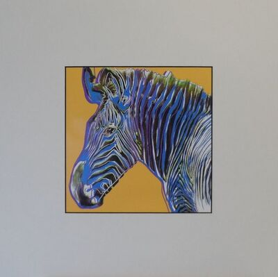 Andy Warhol, 'Zebra', 1987