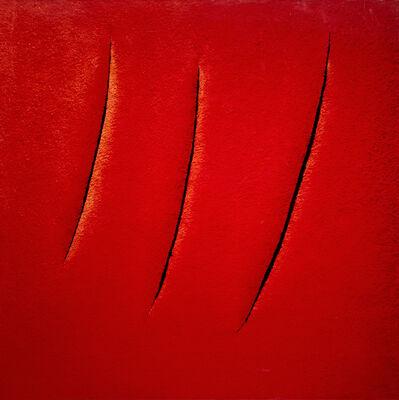 Vik Muniz, 'Spatial Concept, Expectations, After Lucio Fontana (Pictures of Pigment)', 2007