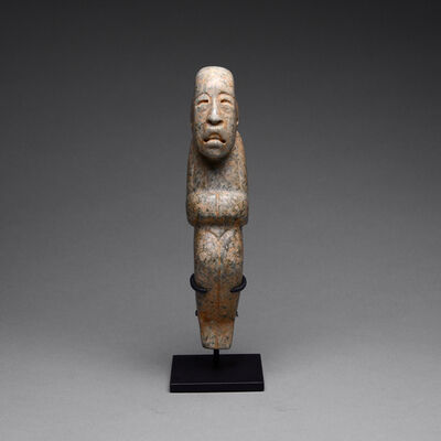 Olmec Culture, 'Olmec Jade Figure of a Hunch Back', 900 BC to 600 BC