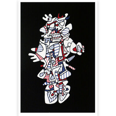 Jean Dubuffet, 'Presences Fugaces (series)', 1973