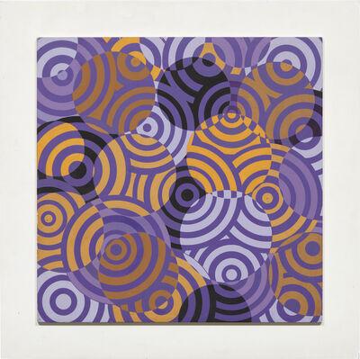 Antonio Asis, 'Interférences en couleurs', 1968