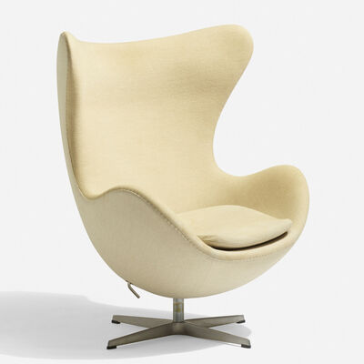 Arne Jacobsen, 'Egg chair', 1958