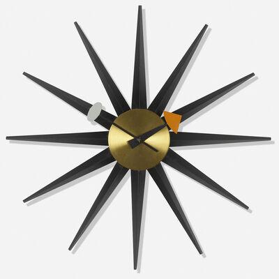 George Nelson & Associates, 'Spike wall clock, model 2202E'