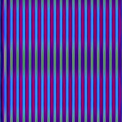 Daniel Temkin, 'Glitchometry Stripes #12A', 2013