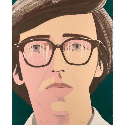 Alex Katz, 'Portrait of a poet: Kenneth Koch', 1970