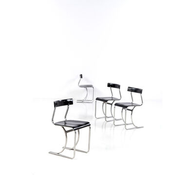Marcel Breuer, 'Set of four chairs', circa 1932