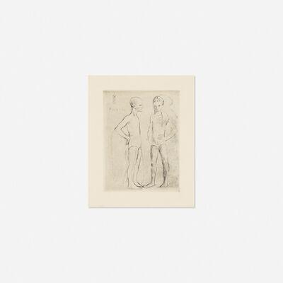 Pablo Picasso, 'Les Deux Saltimbanques from La Suite des Saltimbanques', 1905