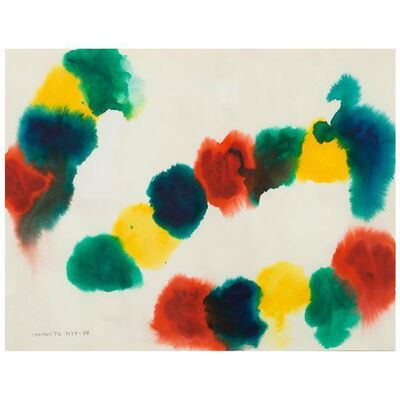 Gershon Iskowitz, 'Untitled (Caterpillar)', 1977