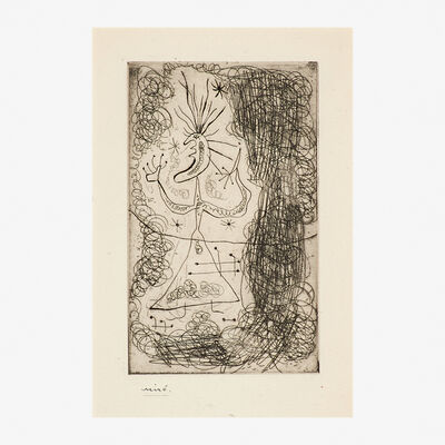 """Joan Miró, 'Untitled from Stephen Spender's """"Fraternity""""', 1939"""