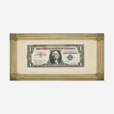 Arman, 'Dollar Bill', 1964