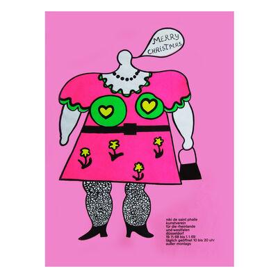 Niki de Saint Phalle, 'Merry Christmas Poster', 1968