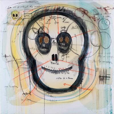 Fabrice Hyber, 'Skull Head', 2010