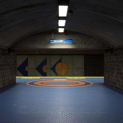 Chris Shepherd, 'Snowden Hall and Platform, Montreal', 2014