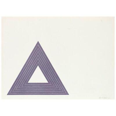 Frank Stella, 'Leo Castelli', 1972