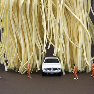 Christopher Boffoli, 'Linguine Car Wash', 2009