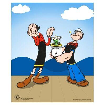 Popeye, 'Popeye Spinach', 1990-2020