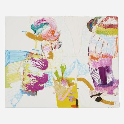 Pia Fries, 'Zurbath', 2001