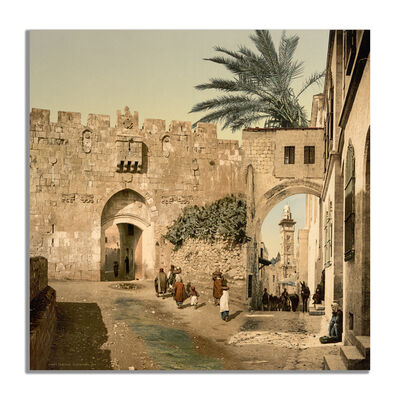 Steve Sabella, 'Elsewhere (Palestine photochrome 16)', 2020