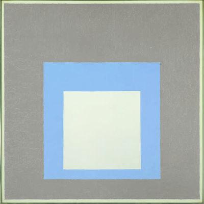Josef Albers, 'Hommage to Square: Greek Island', 1957