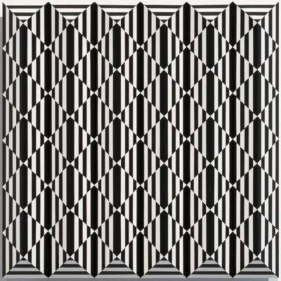 Roland Helmer, 'V94 - Schwarz, schwarz, weiss', 2020