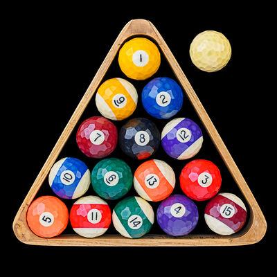 Richard Marquis, 'Battuto-cut vintage pool balls', 2005