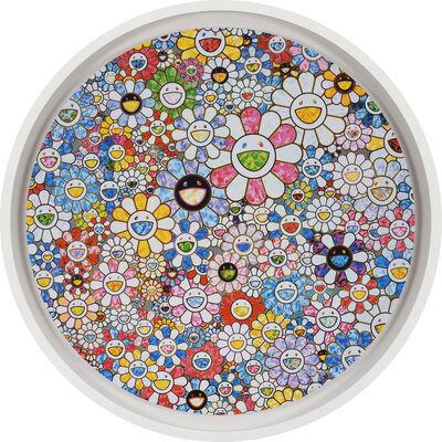 Takashi Murakami, 'flower in the sky', 2020