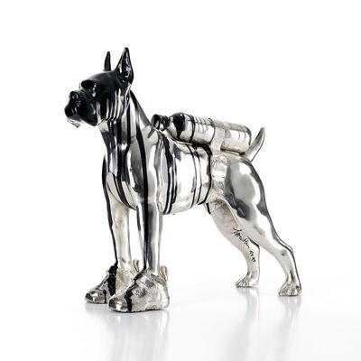 William Sweetlove, 'Cloned Bulldog with pet bottle', 2011