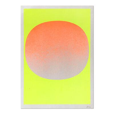 Rupprecht Geiger, 'Orange on Yellow', 1968