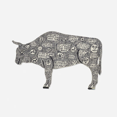 Howard Finster, 'Untitled (Bull)', 1989