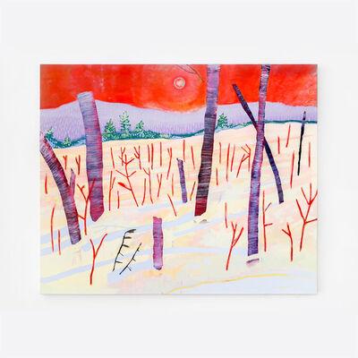 Josiane Lanthier, 'La neige multicolore et l'ombre bleue', 2021