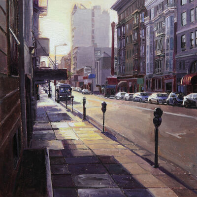 Greg Gandy, 'Sunrise on Geary St', 2014