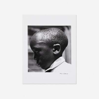 Aaron Siskind, 'Boy's Head, Harlem', 1932