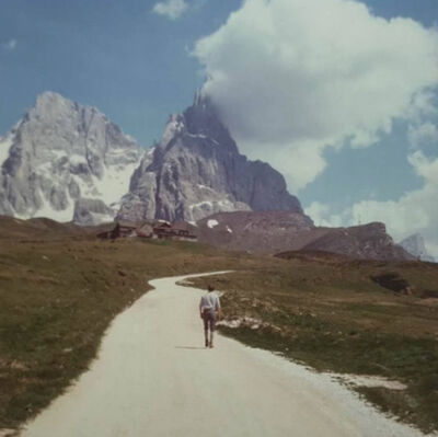 Luigi Ghirri, 'Passo Rolle,  Série Paesaggio italiano', 1987