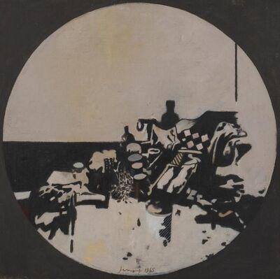 Gianfranco Ferroni, 'Oggetti Tondo', 1965