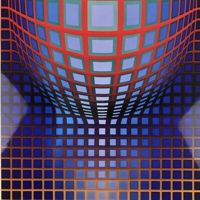 Victor Vasarely, 'KEDZI-VEGA', 1974