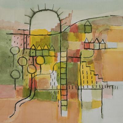 Sanda Iliescu, 'Peter's Park: Garden Plots', 2018