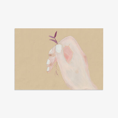 Johanna Tagada, 'Rose and the Succulent Plant', 2019