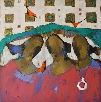 Ammar Alnahhas, 'Women at Eufrat', 2020