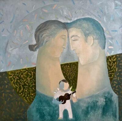 Orlando Agudelo Botero, 'LA FAMILIA-ARMONIA', 2017