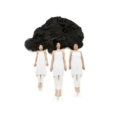 Yuni Kim Lang, 'Woven Identity I   from the series, Comfort Hair', 2014