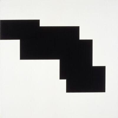 Aurelie Nemours, 'structure du silence', 1985