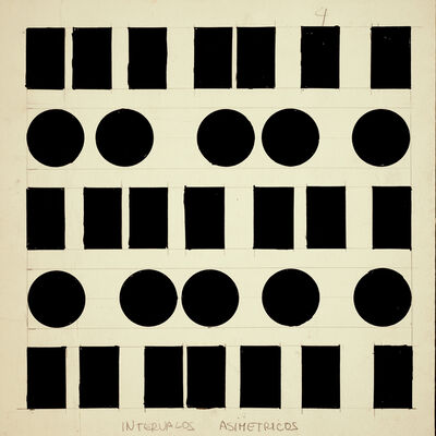 Norberto Puzzolo, 'Symetrical Intervals ', 1966