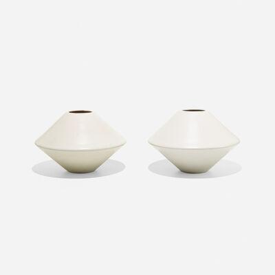 La Gardo Tackett, 'planters model IN-01, pair', 1955