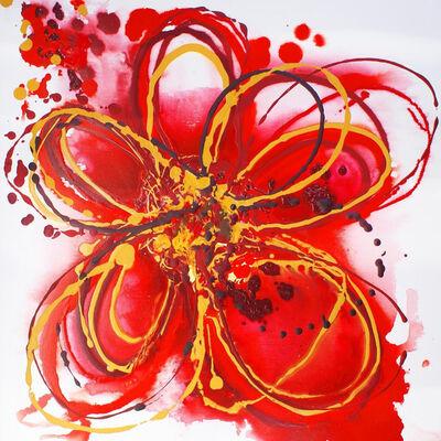 Irena Orlov, 'Red Splash Flower', 2014