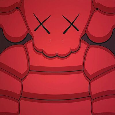 KAWS, 'What Party - Red', 2020